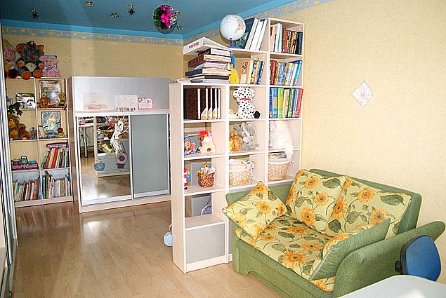 Комната на две зоны фото