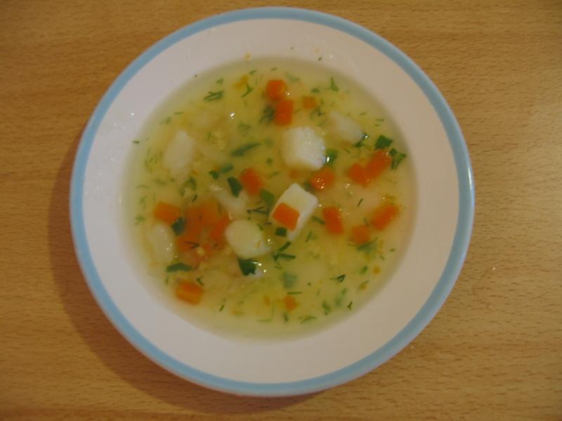Суп для детей от 1 года до 2 лет рецепты