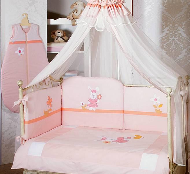 Как сшить бортики в детскую кроватку для новорожденных - fe 12