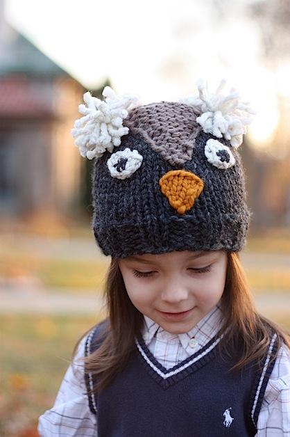 вязаная зимняя шапка связанная