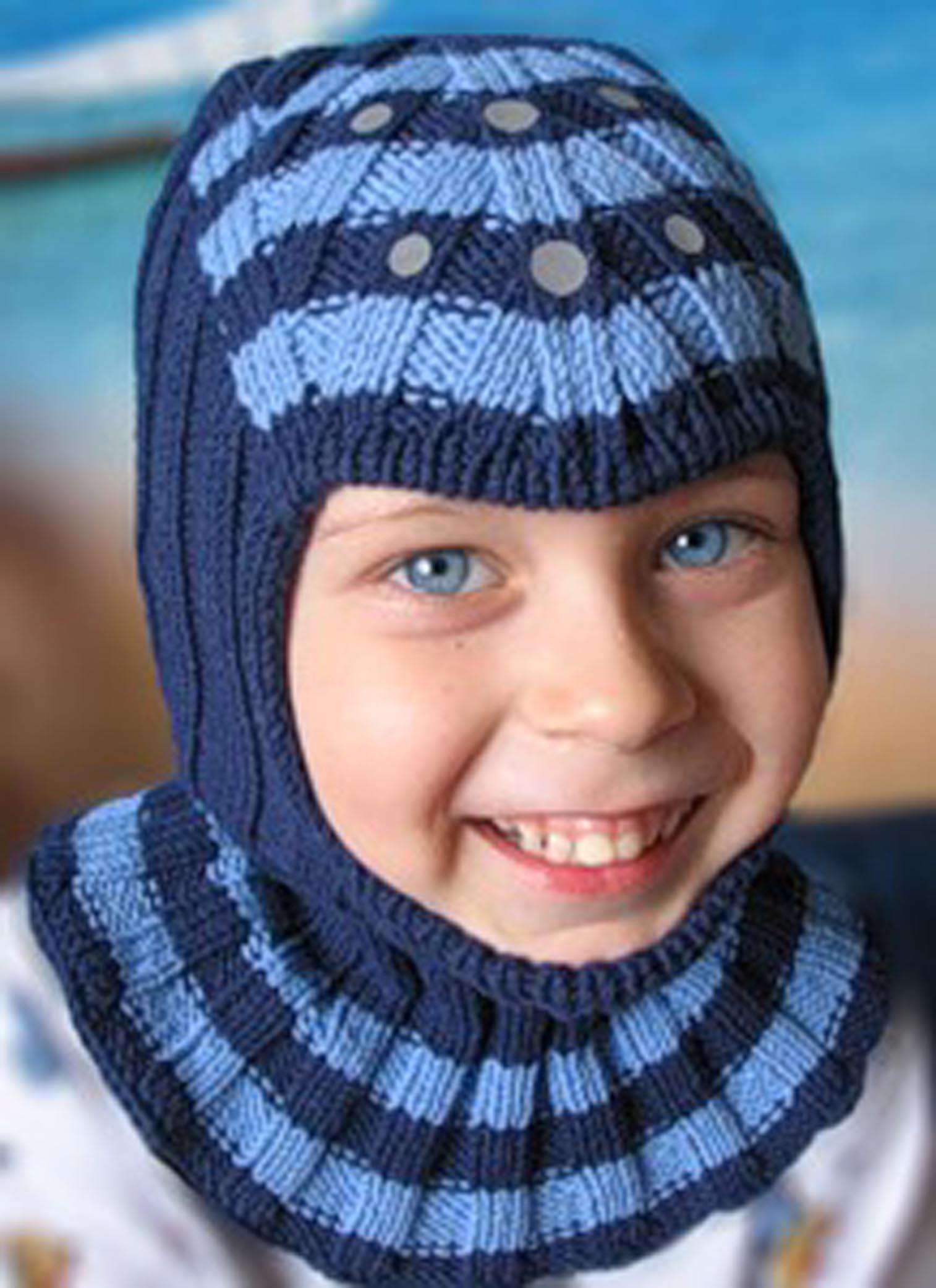 Шапочка «Эльф» - Детские шапочки спицами 46