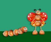 Поделки своими руками из подручных материалов насекомые