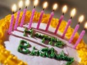Празднование дня рождения ребенка