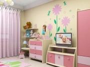 Как оформить детскую комнату для девочки