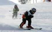 Как научить ребенка кататься на лыжах