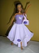 Платья для кукол своими руками легко и быстро