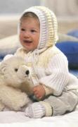 Своими руками: вязаный чепчик для малыша :: Другое :: Про Детей