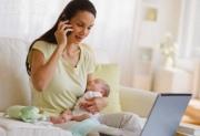 Как совместить работу и воспитание ребенка