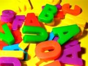 Игры с магнитной азбукой