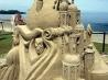 Детский отдых: строим замок из песка