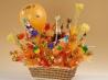 Сладкие букеты из конфет