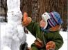 Зимние игры для ребенка двух лет