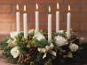 Новый год: украшаем дом цветами