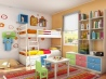 Интерьер детской комнаты: от 2 до 6