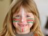 Как раскрасить лицо ребенка